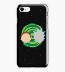 Rick and Morty Minimalist iPhone Case/Skin
