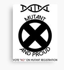 Mutant & Proud Canvas Print