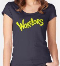 GS WARRIORS Women's Fitted Scoop T-Shirt