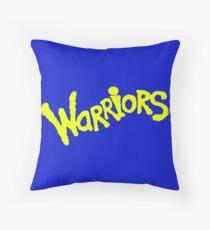 GS WARRIORS Throw Pillow