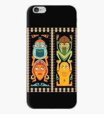 Tiki Totems iPhone Case