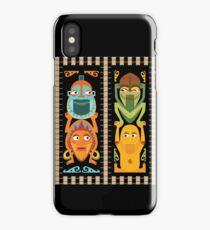 Tiki Totems iPhone Case/Skin