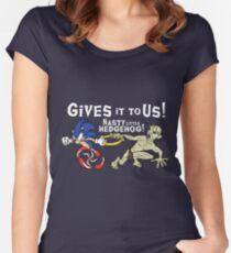 Nasty Hedgehog!!! Women's Fitted Scoop T-Shirt