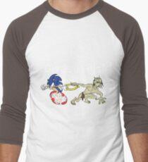 Nasty Hedgehog!!! Men's Baseball ¾ T-Shirt