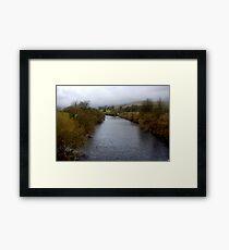 River Wharf - Yorkshire Dales Framed Print