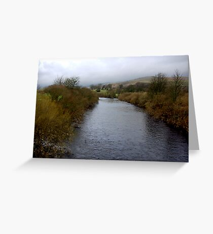 River Wharf - Yorkshire Dales Greeting Card