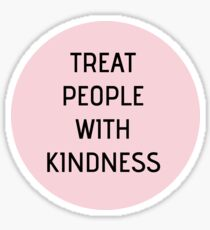 Harry Styles - Treat People With Kindness (circle) Sticker