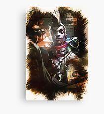 League of Legends EKKO Canvas Print