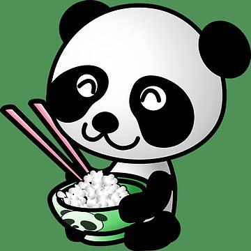 Nom Nom Panda by Demonkin