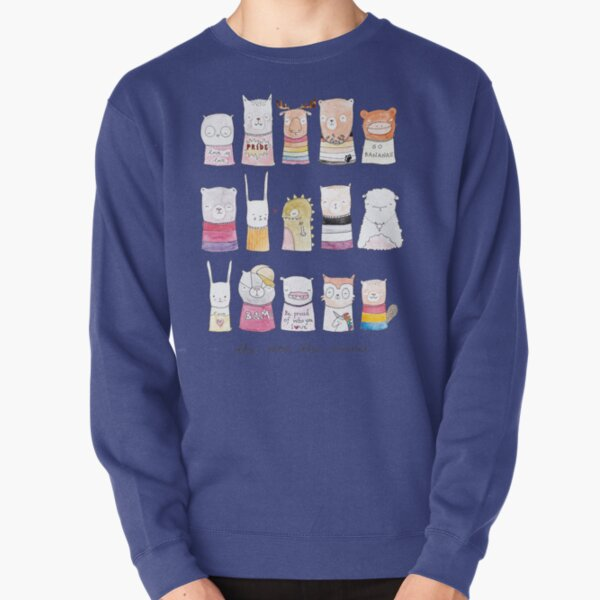 The More the Merrier Pullover Sweatshirt