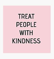 Harry Styles - Treat People With Kindness (all pink) Photographic Print