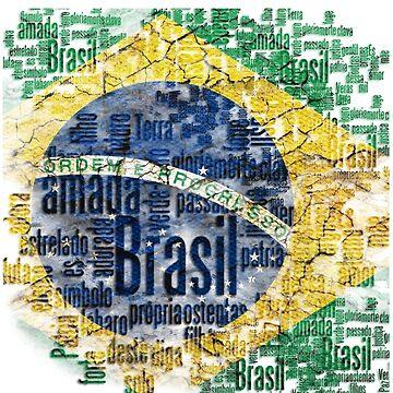 Brasil Flag by marcelobin