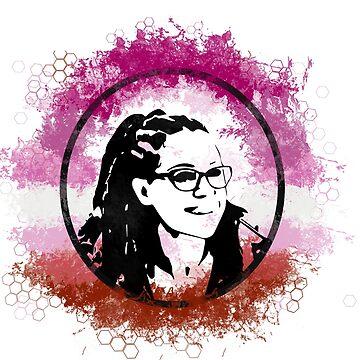 Cosima Niehaus Lesbian Pride - Orphan Black by c-sima