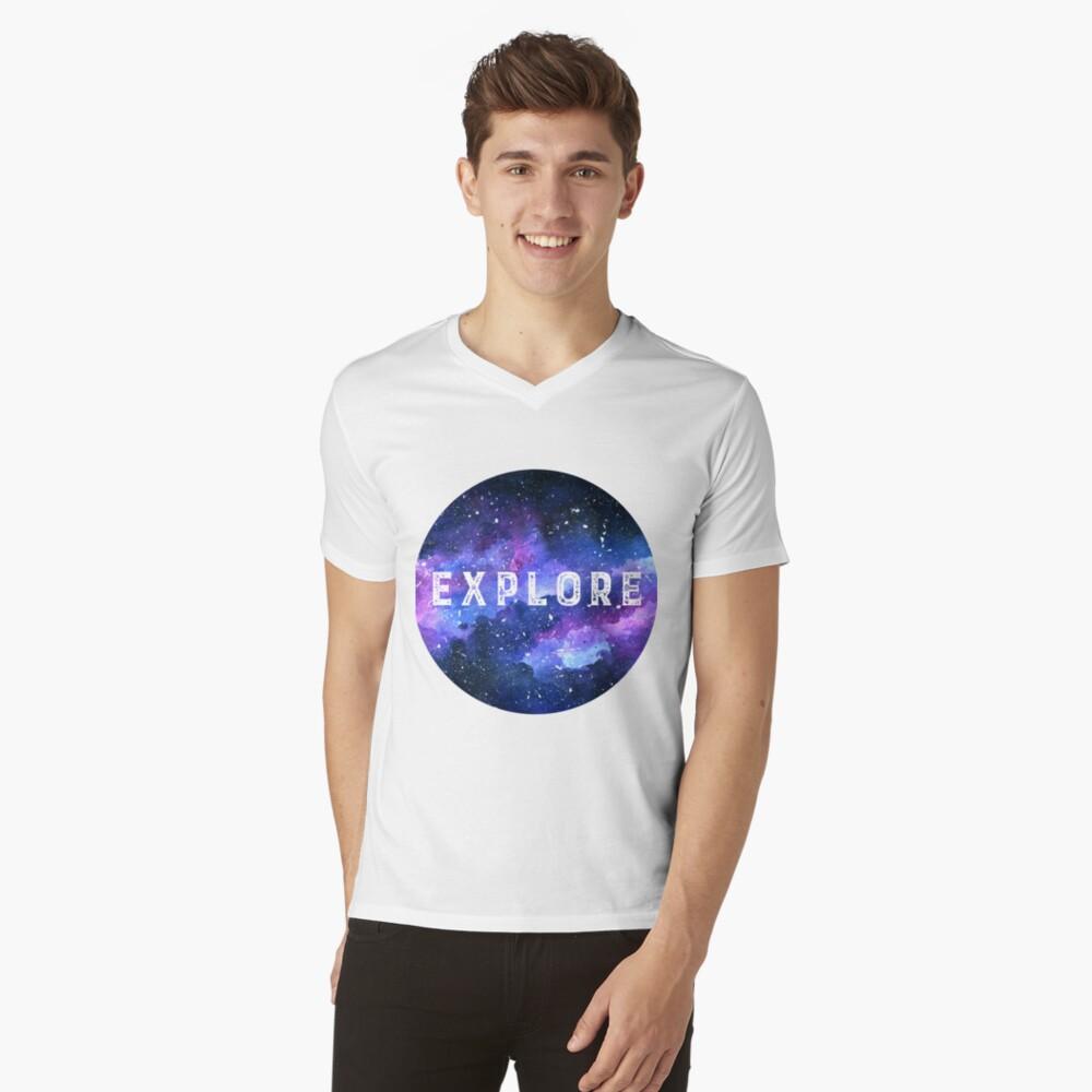 Galaxy V-Neck T-Shirt