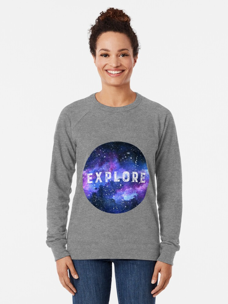 Alternate view of Galaxy Lightweight Sweatshirt