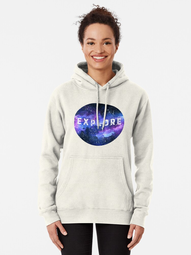 Alternate view of Galaxy Pullover Hoodie