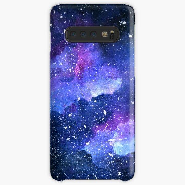 estrellas y planetas Acuarela de Kathrin Legg Funda rígida para Samsung Galaxy