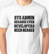 SysAdmin Unisex T-Shirt
