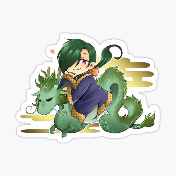 Ryokuryuu Sticker