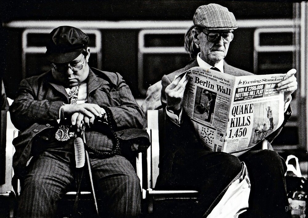 Victoria Station - London 1999 by gluca