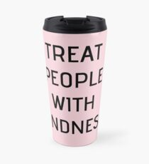 Harry Styles - Treat People With Kindness (all pink) Travel Mug