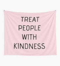 Harry Styles - Treat People With Kindness (all pink) Wall Tapestry