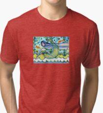 Water Girl Tri-blend T-Shirt