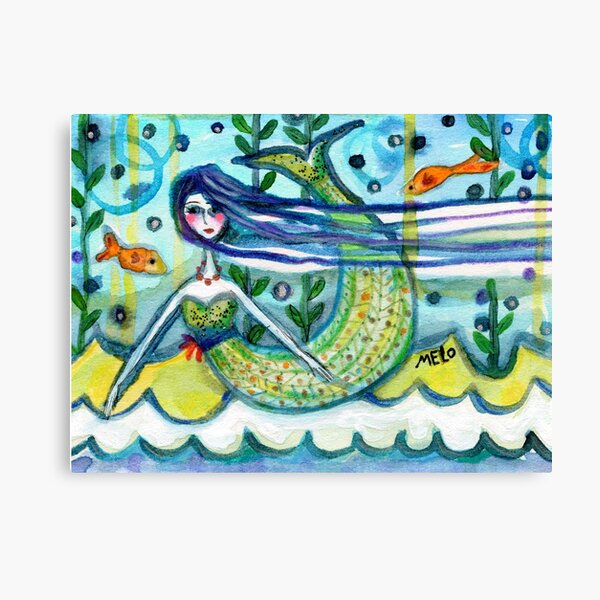 Water Girl Canvas Print