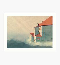 Castle in the Sky Art Print