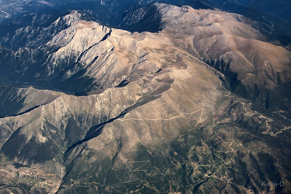 Mount Olymp by Kasia-D