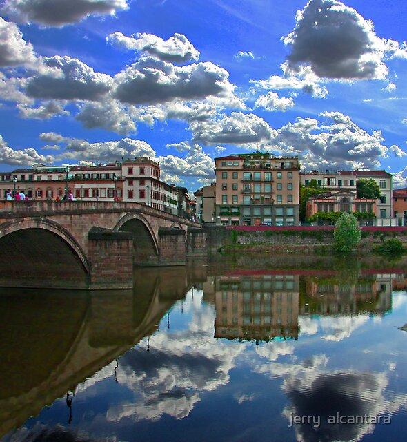 Arno River by jerry  alcantara