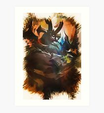 League of Legends GATEKEEPER GALIO Art Print