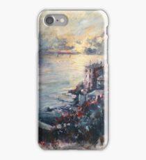 The Ligurian coast (Italy) iPhone Case/Skin