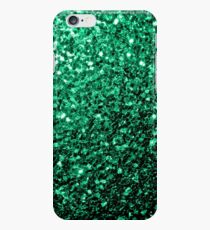 Beautiful Emerald Green glitter sparkles iPhone 6s Case