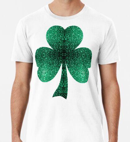 Beautiful Emerald Green glitter sparkles Men's Premium T-Shirt