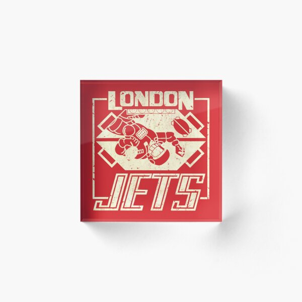 Red Dwarf - London Jets Acrylic Block