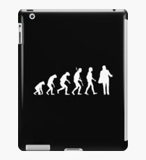 Confused Travolta Evolution white iPad Case/Skin