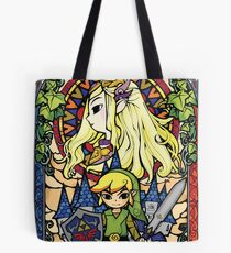 Zelda & Link Tote Bag