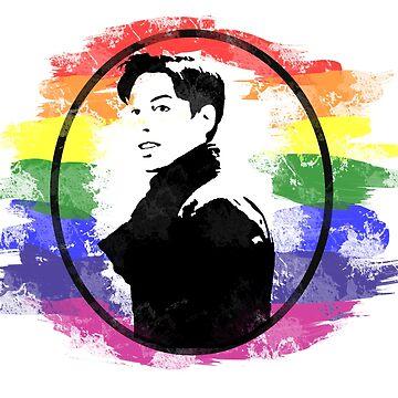 Felix Dawkins Gay Pride - Orphan Black by c-sima