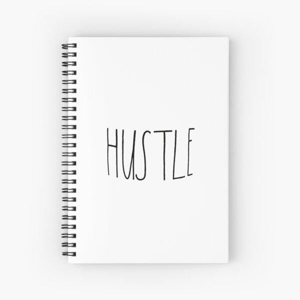 Rae Dunn Font Farmhouse Hustle  Spiral Notebook