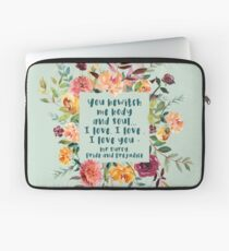 You bewitch me Laptop Sleeve