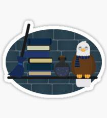 House Shelf - Eagle Sticker