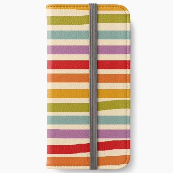 Hand drawn Rainbow iPhone Wallet