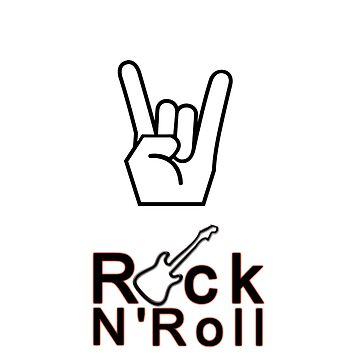 Rock n Roll T Shirt - By G.B Fashion Care by gubolta
