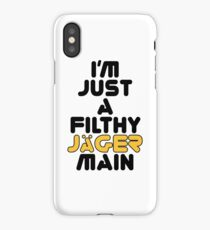 Jager Main (Filthy) iPhone Case