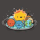 Around the sun by Andres Colmenares