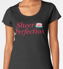 Sheer Perfection—Great British Bake Off—Cake Red Women's Premium T-Shirt