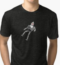 Lost in space _ silver Tri-blend T-Shirt