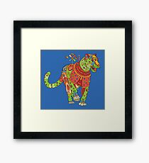 Jaguar, from the AlphaPod collection Framed Print
