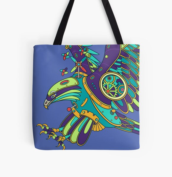 Eagle, from the AlphaPod collection All Over Print Tote Bag